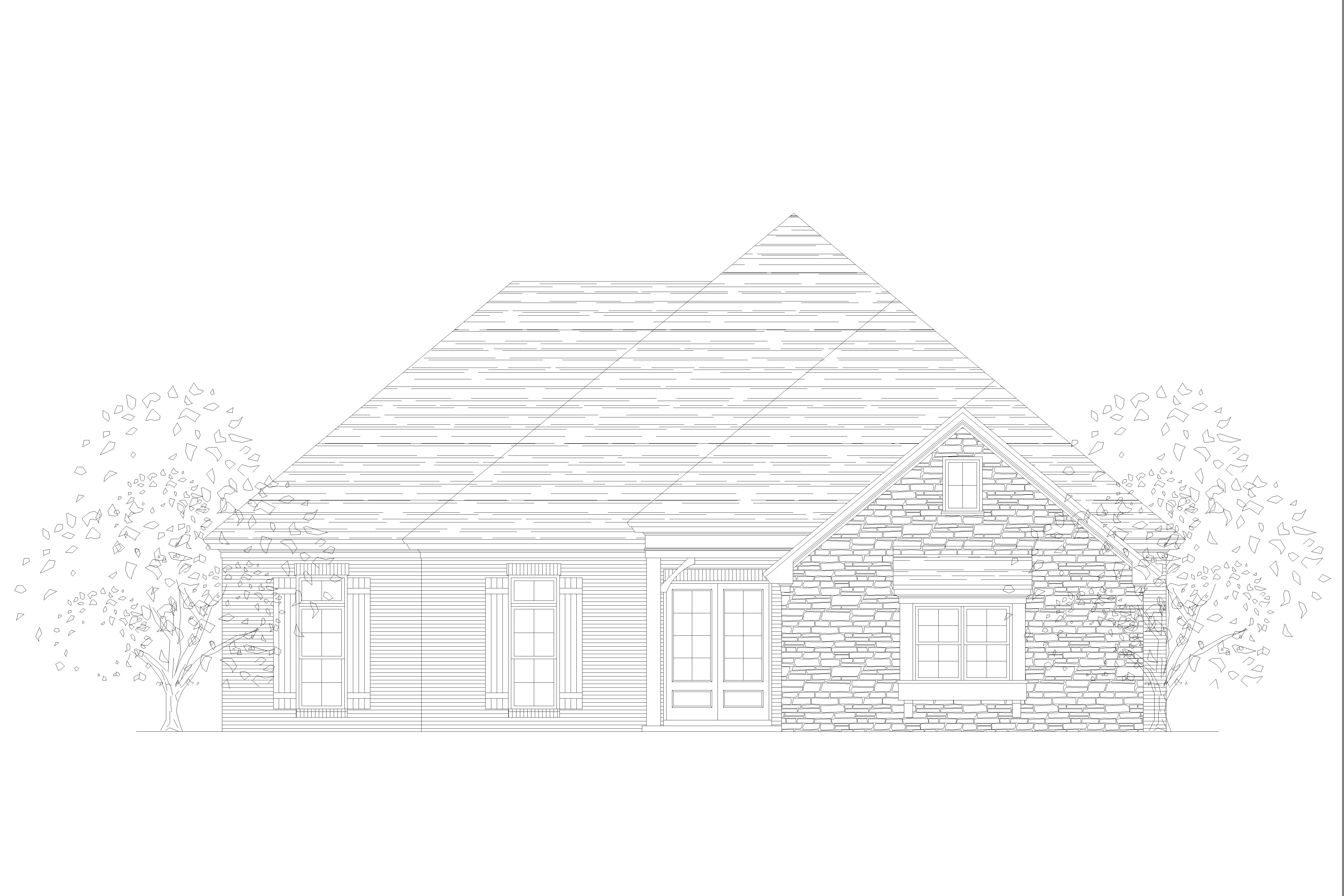 Plan-2068A Elevation